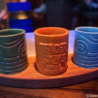 Rum Flight - 3/4-oz pour of Bacardi 8 yr, Pyrat XO Reserve and Ron Zacapa Centenario 23 yr at Trader Sam's Grog Grotto