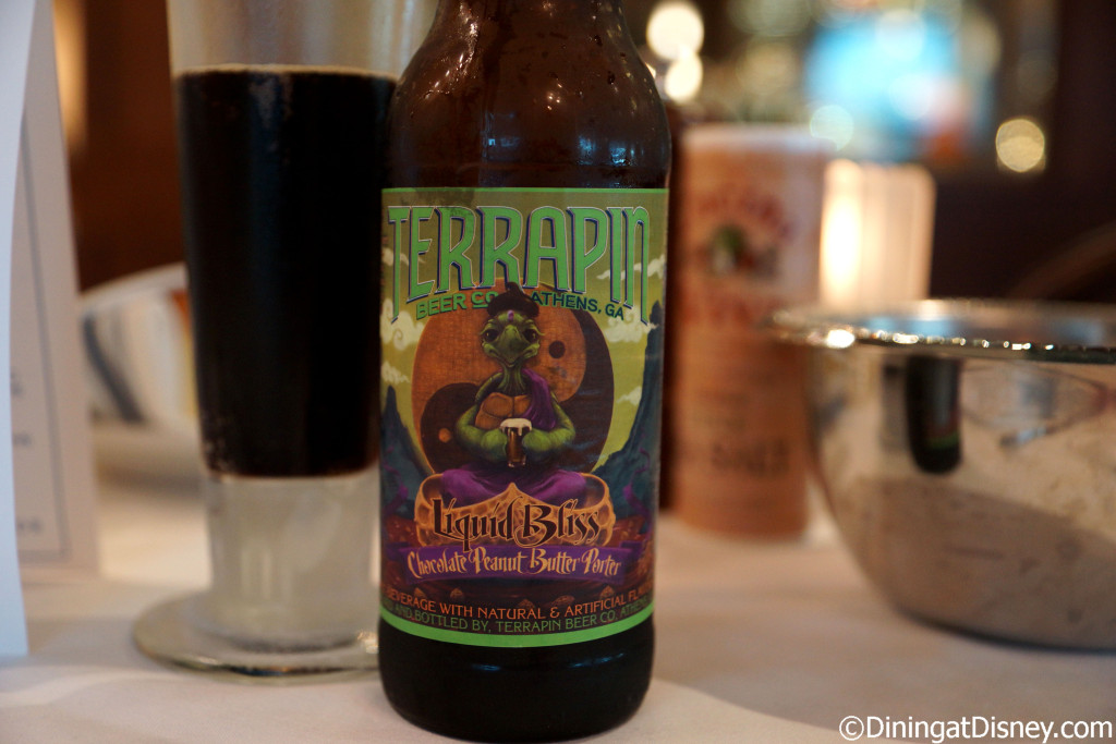 The Terripan Liquid Bliss - Chocolate Peanut Butter Stout at The BOATHOUSE in Disney Springs