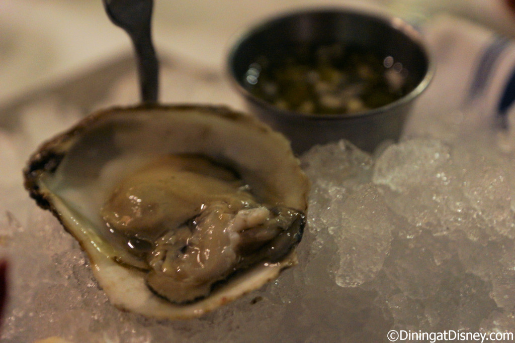 Blue Point oysters on the half shell at The BOATHOUSE in Disney Springs