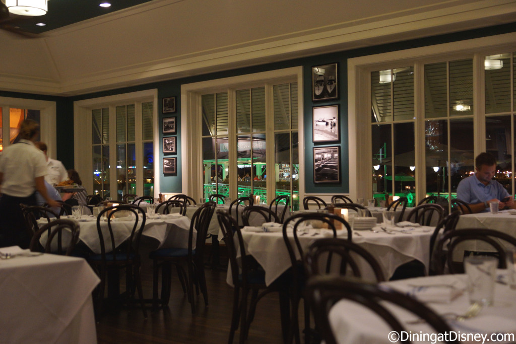 The second dining room at The BOATHOUSE in Disney Springs