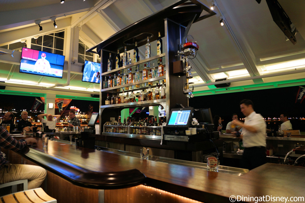 Dockside Bar at The BOATHOUSE is a full-service bar
