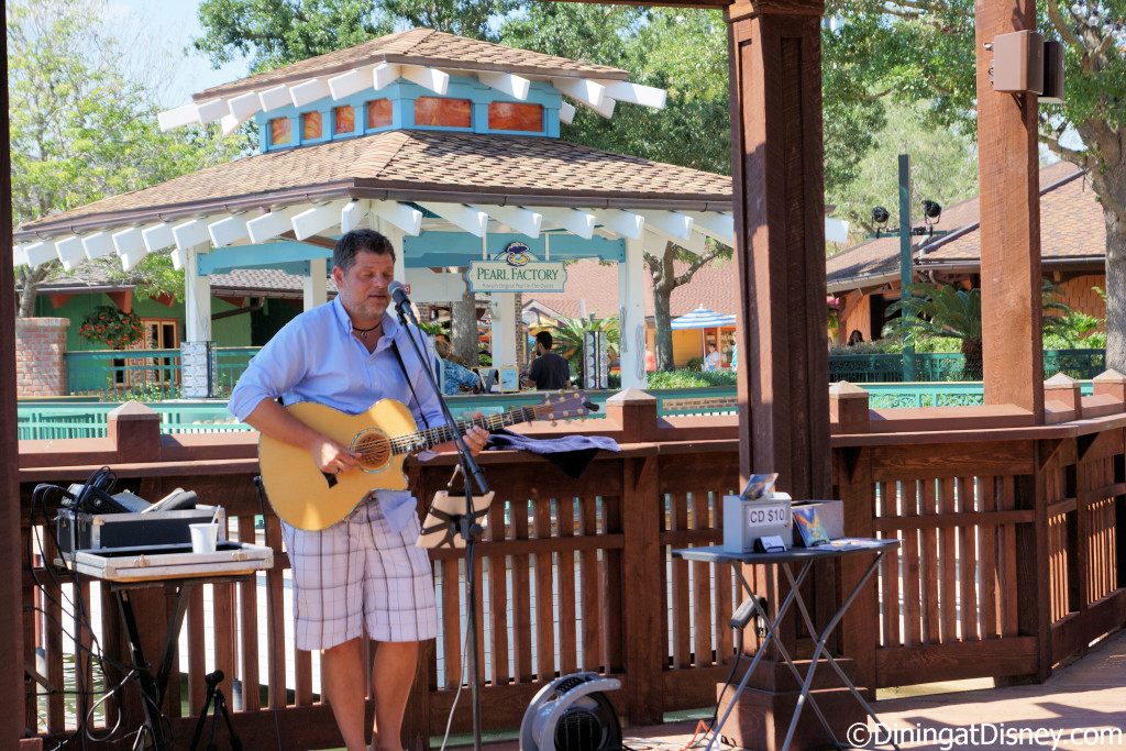 Guests can enjoy daily live music at Dockside Margaritas in Disney Springs The Marketplace