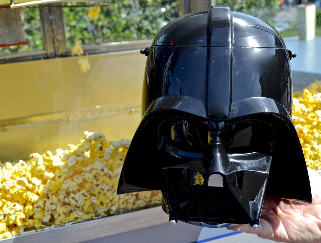 Darth Vader Popcorn Bucket - Tomorrowland