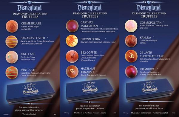 Diamond Celebration Restaurant Truffles (image by: Disney)