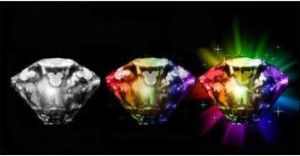 Disneyland Diamond Anniversary Glow Cubes