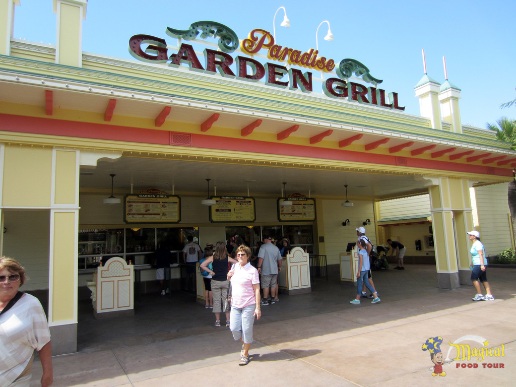 Review: Paradise Garden Grill 2015 Menu -