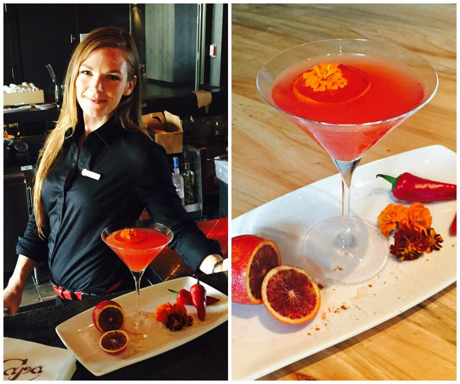 "Vote for Anna Mitchell, Four Seasons Orlando bartender for  ""Make Mine a Martini"" Contest"