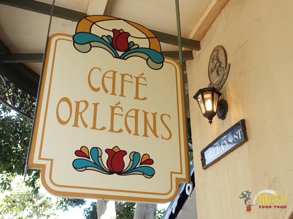 Café Orleans in New Orleans Square at Disneyland Park