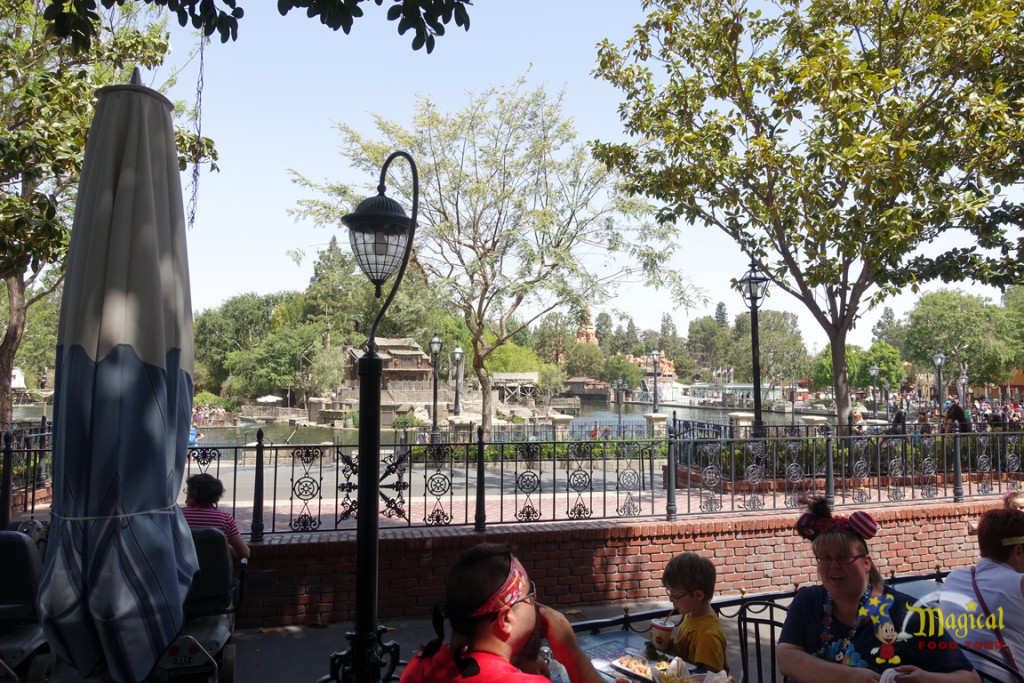 Café Orleans View of Tom Sawyer's Island