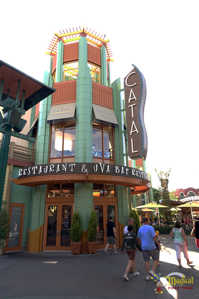 Catal Restaurant in Downtown Disney Anaheim