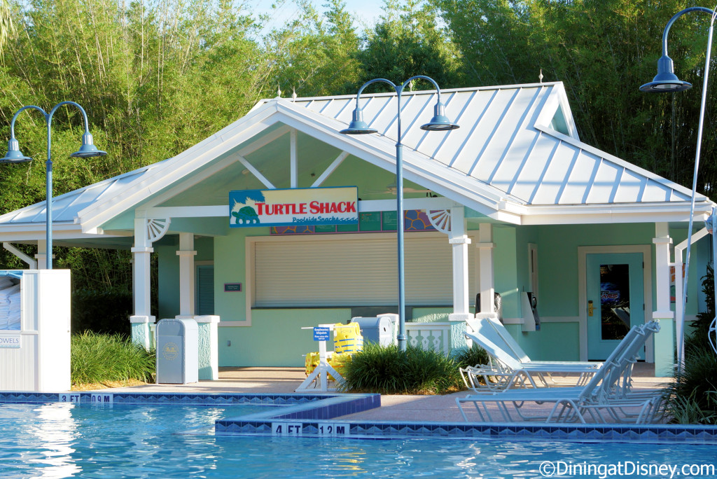Turtle Shack Poolside Snacks is located at Disney's Old Key West in Disney World