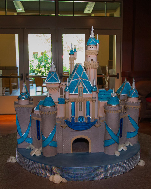 Sleeping Beauty Castle Diamond Celebration Cake [photo by: Disney]
