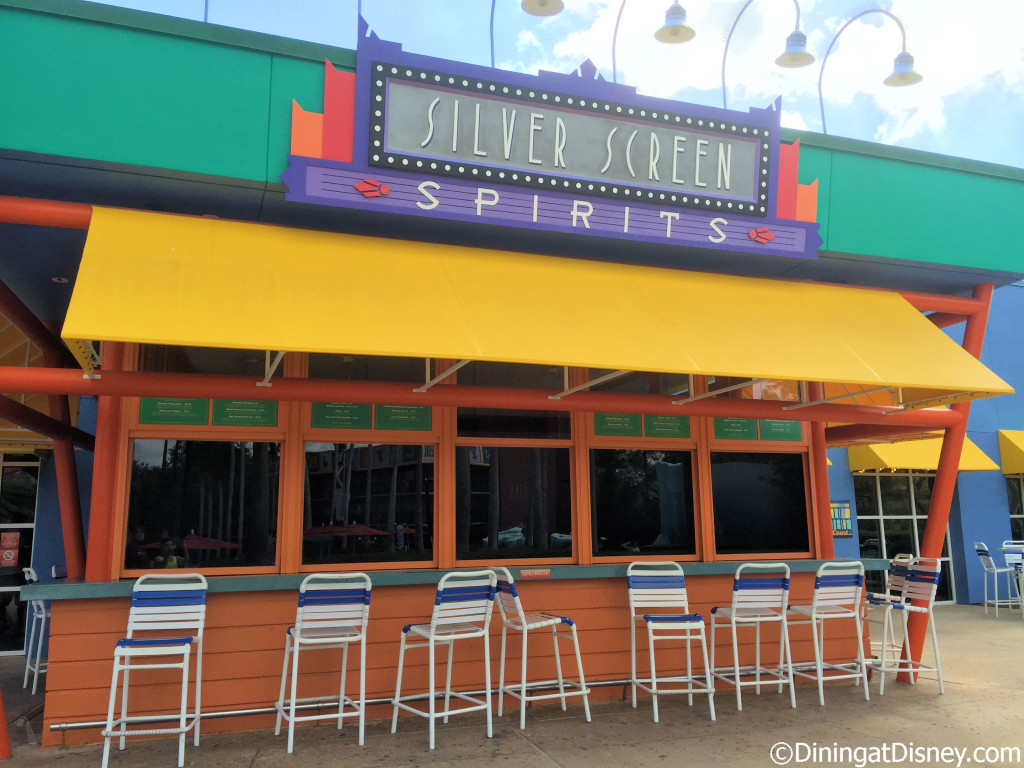 Silver Screen Spirits Pool Bar is located at Disney's All Star Movies in Disney World
