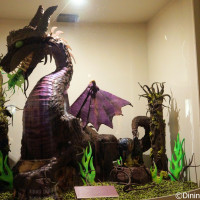 Maleficent chocolate display in the Festival Center located at The Choclate Experience: From Bean to Bar