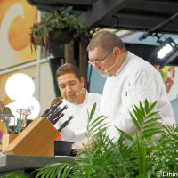 Culinary Demonstration n the Festival Center at the 2014 Epcot Food and Wine Festival