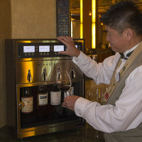 Disney's Grand Californian's Napa Rose's WineStation servers up rare wines