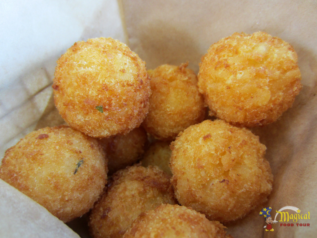Aged Cheddar Risotto Bites