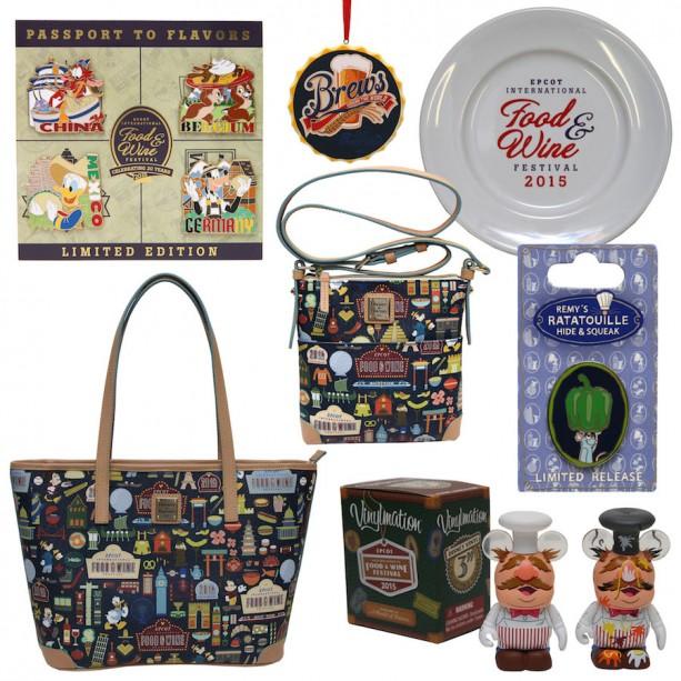 Epcot International Food and Wine 2015 collectible merchandise