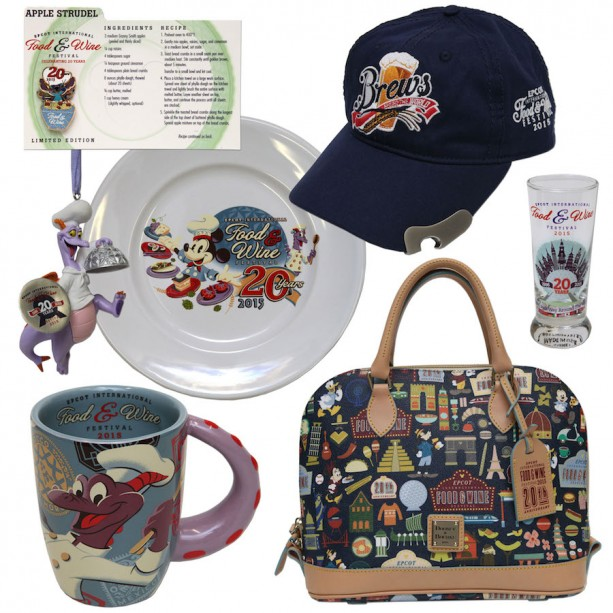 Epcot International Food and Wine 2015 merchandise featuring Figment