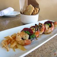 Grilled Shrimp and Spanish Chorizo