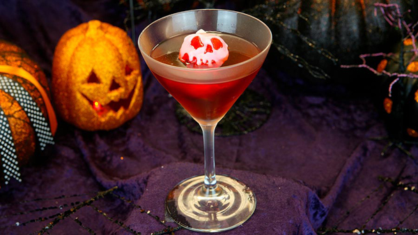 Poison Apple-Tini at Carthay Circle Restaurant