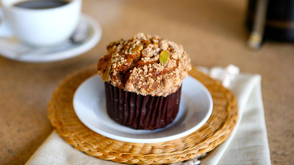 Pumpkin Muffin from  The Coffee House at Disneyland Hotel