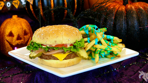 Tomorrowland Terrace Cheeseburger Combo