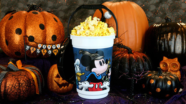 """Popcorn bucket inspired by the classic cartoon """"Lonesome Ghosts"""" [photo by: Disney]"""
