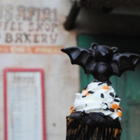 Bat cupcakes at Disney's Animal Kingdom