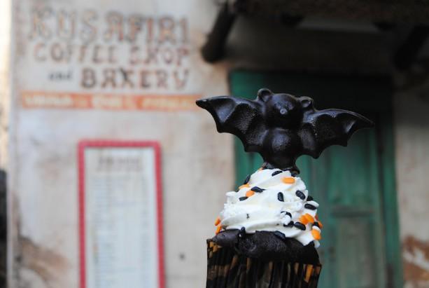 Bat cupcakes at Disney's Animal Kingdom