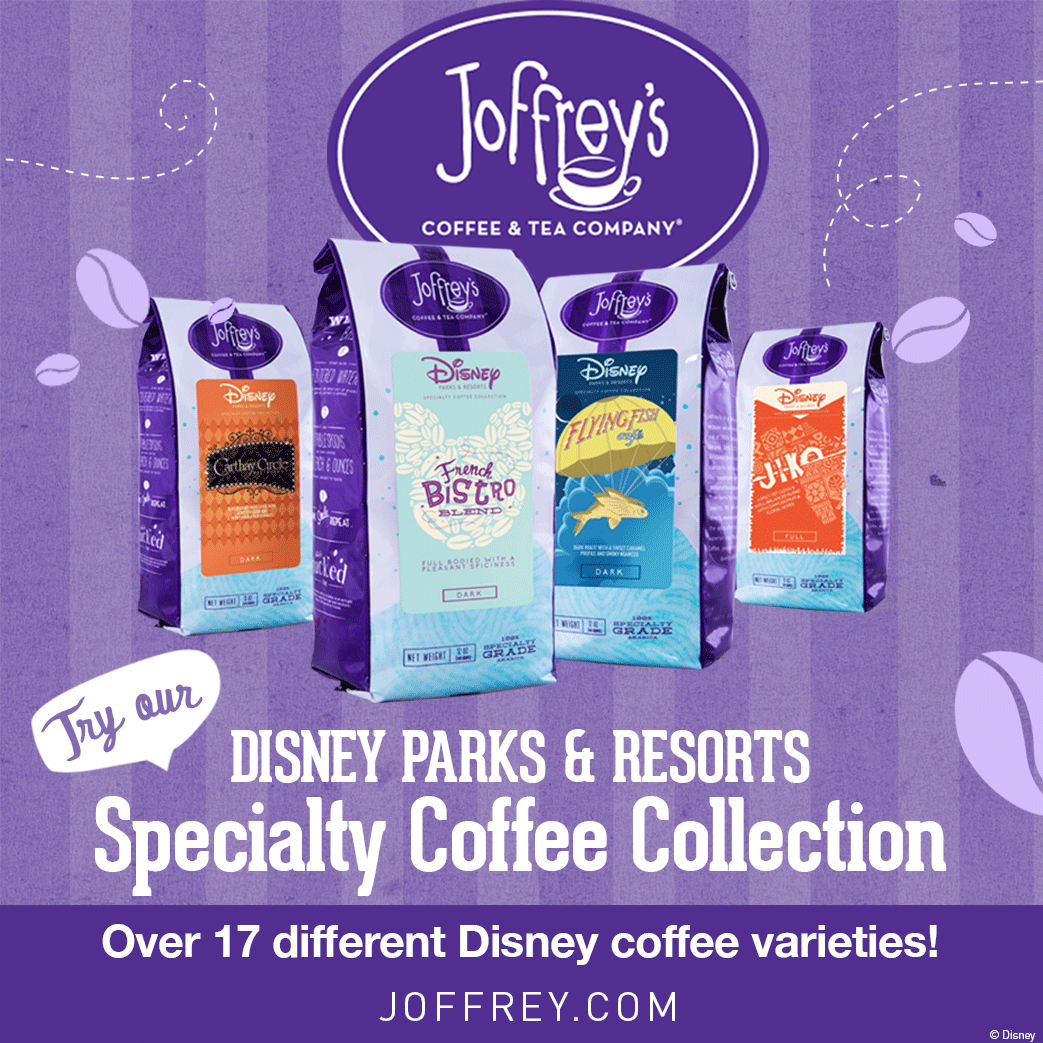 Check out Joffrey's coffees!