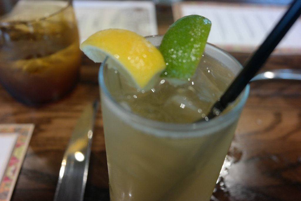 Lemonade from Plancha in Four Seasons Orlando