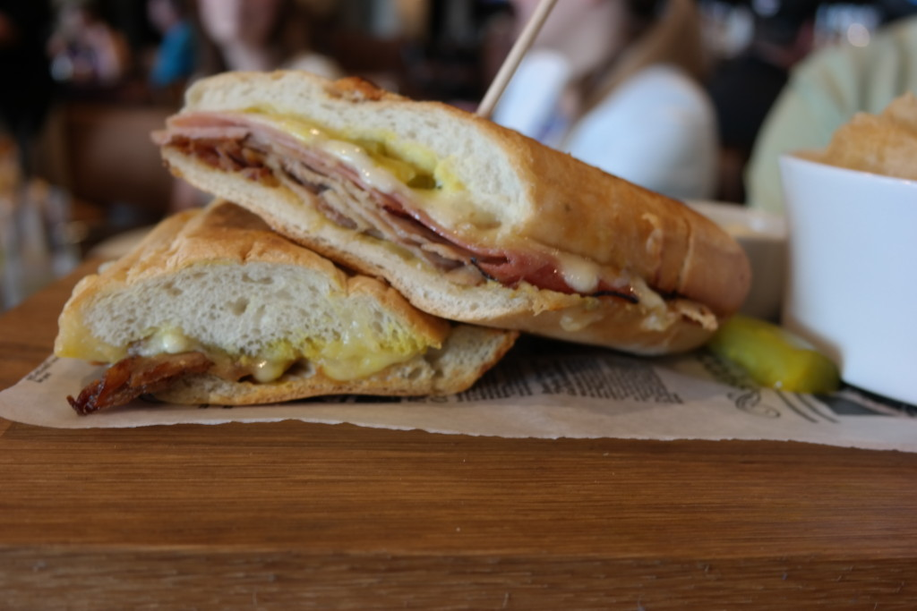 The El Cubano sandwich from Plancha in Four Seasons Orlando