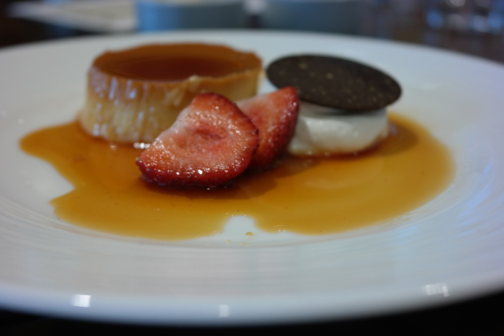 Traditional Flan from Plancha at Four Seasons Orlando