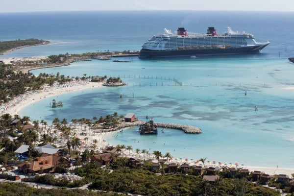 Castaway Cay - A great place to grab an all you can eat buffet lunch at Cookie's BBQ