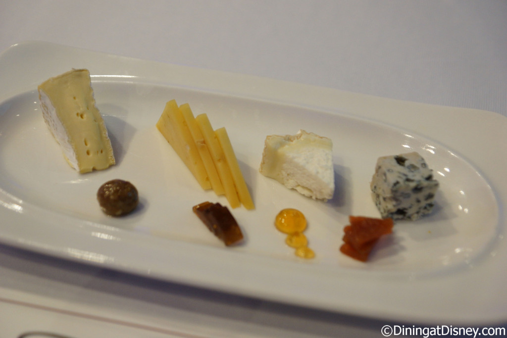 Cheeses to snack on during the Wine Blending seminar at Swan and Dolphin Food and Wine Classic 2015