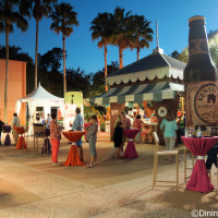 Carnival Corner at the Swan and Dolphin Food and Wine Classic 2015