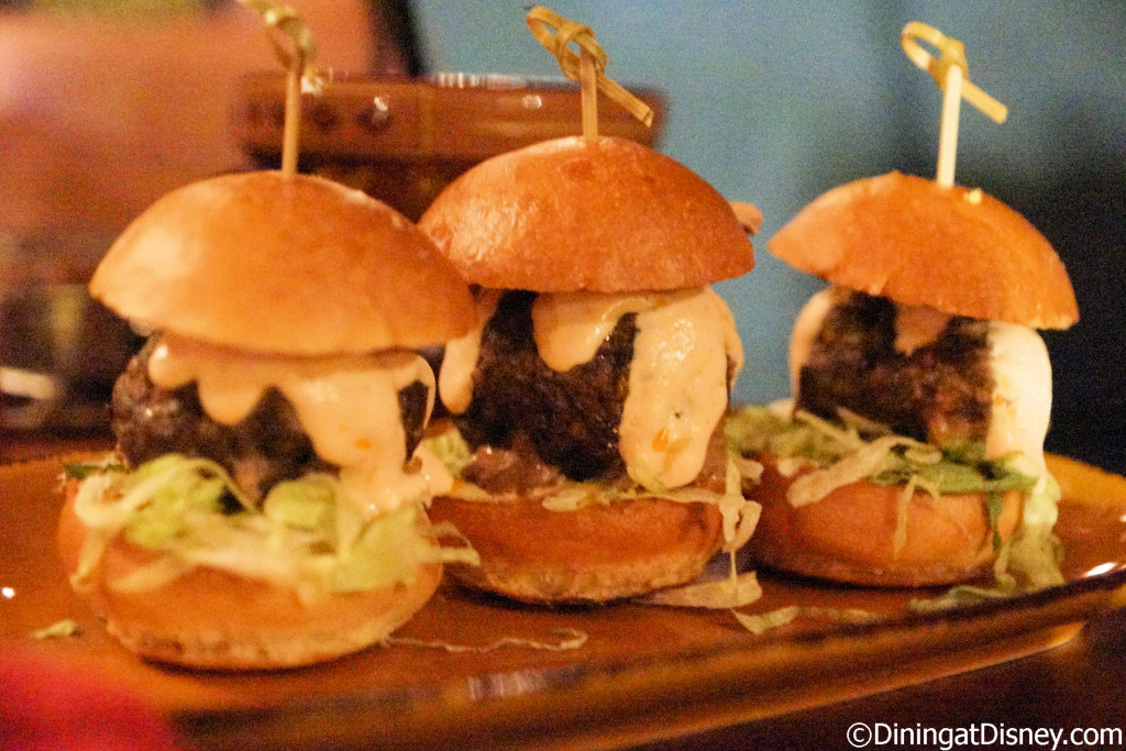 Rolling Boulder Sliders from Jock Lindsey's Hangar Bar in Disney Springs