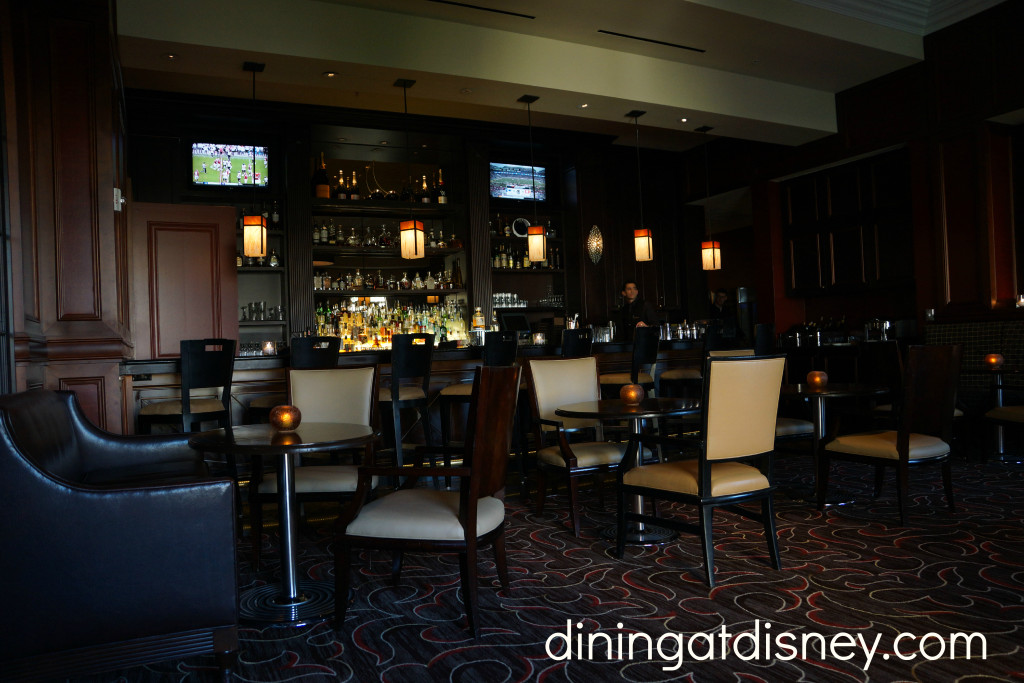 Bull and Bear lounge at Waldorf Astoria Orlando