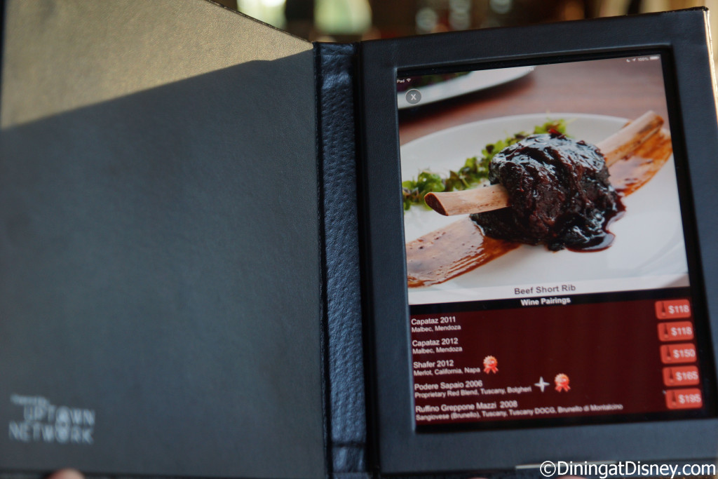 Bull and Bear is the first restaurant to have iPad menus - Waldorf Astoria Orlando