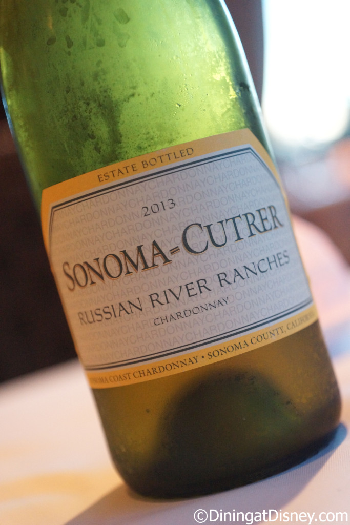Sonoma-Cutrer Russian River Ranches Chardonnay at Bull & Bear - Waldorf Astoria Orlando