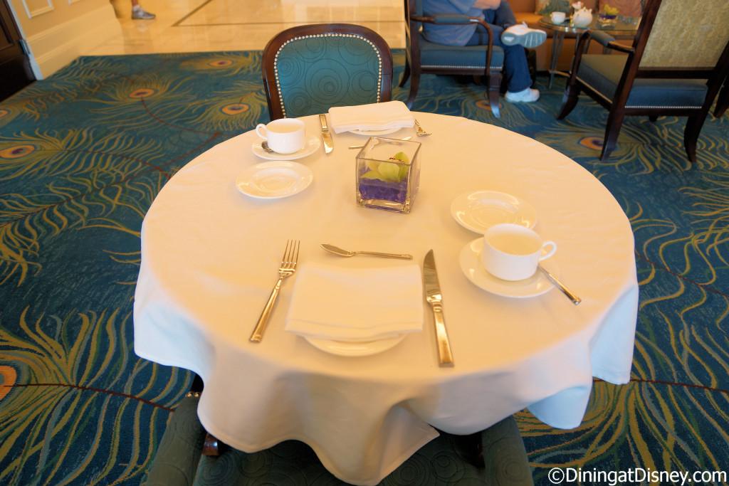 The Royal Tea at Peacock Alley in Waldorf Astoria Orlando