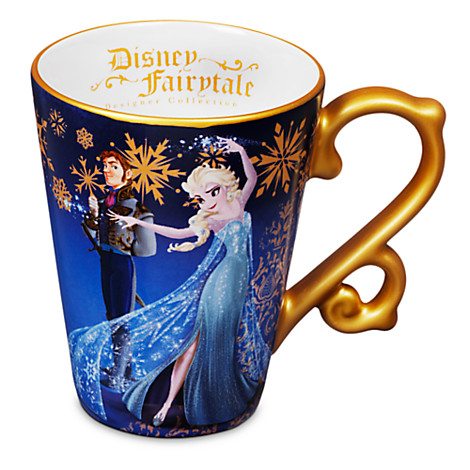 Disney Fairytale mugs features good and evil, such as Elsa and Hans are available at the Disney Store