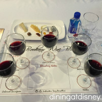 Bordeaux Wine Blending seminar setup at Swan and Dolphin Food and Wine Classic 2015
