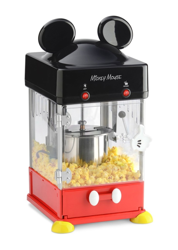 Mickey Mouse popcorn popper available on Amazon