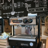 Coffee machines at Lickety Split in Four Seasons Orlando