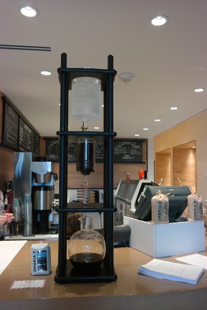 Cold brew coffee maker at Lickety Split in Four Seasons Orlando