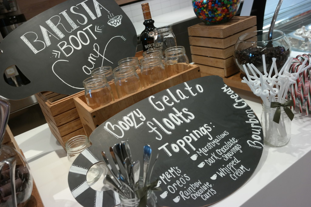 Barista Bootcamp goodies at Lickety Split