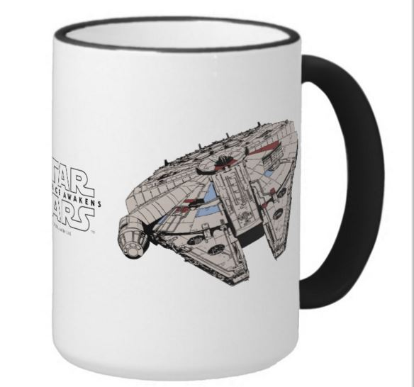 A variety of Star Wars, Marvel, Pixar and Disney mugs are available online at the Disney Store