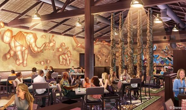 Tiffins restaurant to debut in 2016 at Disney's Animal Kingdom